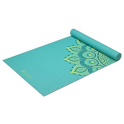 gaiam – Alfombrillas para Yoga impresión Premium