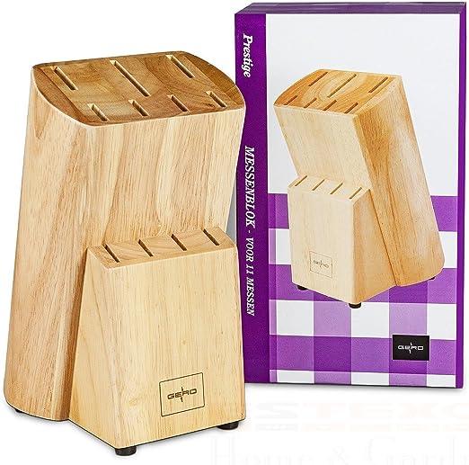 B-Ware Gero Messerblock Prestige Holz Messerhalter Messerständer ohne Messer