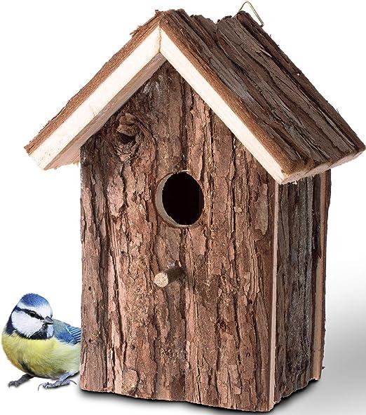Gardigo - Nido para Pájaros; Casa de Madera para Pájaro; Casita Decoración de Jardín, Terraza o Balcón: Amazon.es: Productos para mascotas