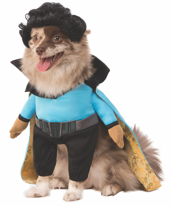 Large Rubie's Star Wars Classic Lando Calrissian Pet Costume, Large