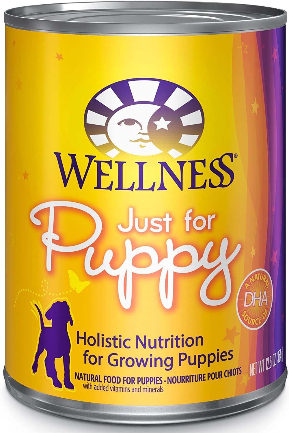 Wellness Complete Health Natural Wet Canned Food Puppy Chicken & Salmon