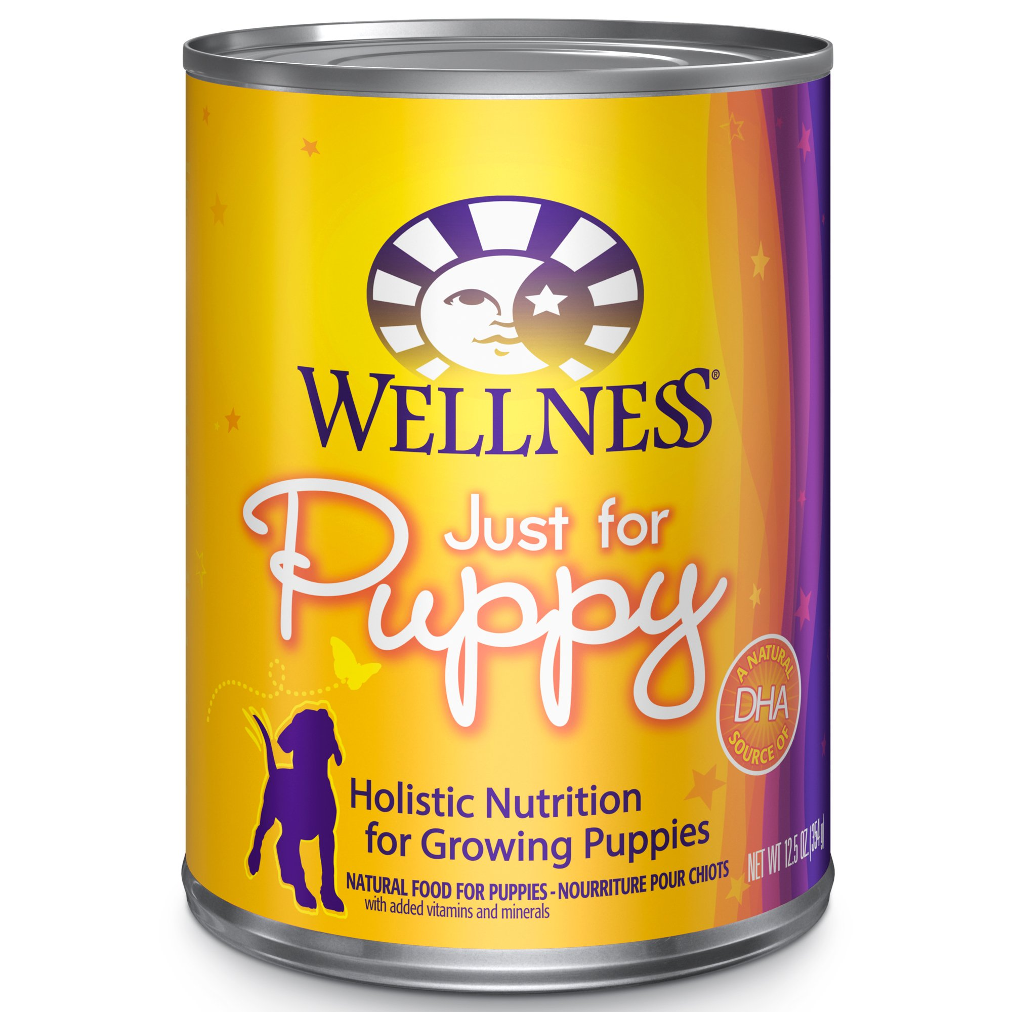 Wellness Complete Health Natural Wet Canned Puppy Food, Chicken & Salmon, 12.5-Ounce Can (Pack Of 12) by Wellness Natural Pet Food