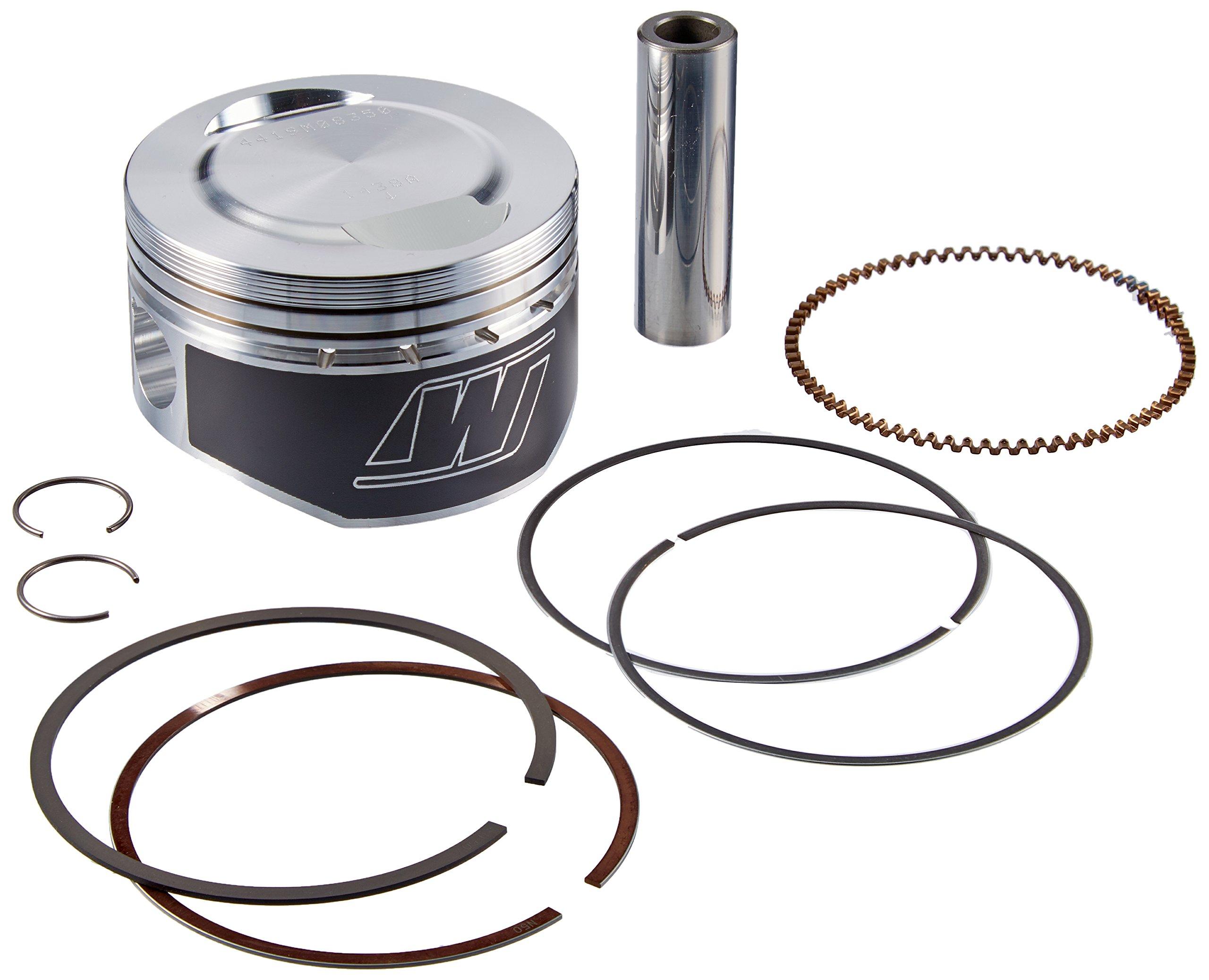 Wiseco 4419M08350 83.50mm 10.25:1 Compression 353cc ATV Piston Kit