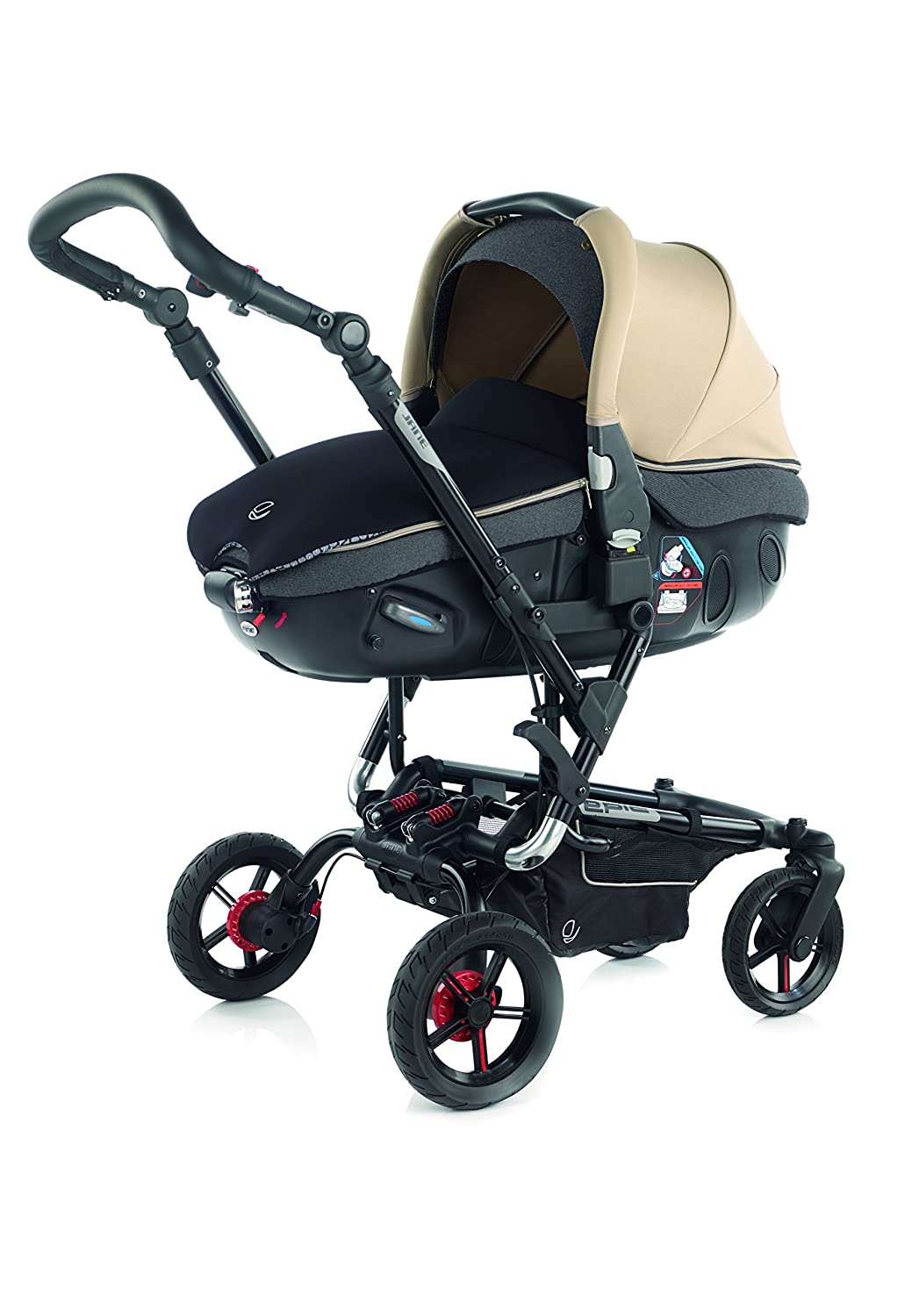 Jane - Coche de Paseo Duo Jané Epic 5379 Matrix Light 2 beige: Amazon.es: Bebé