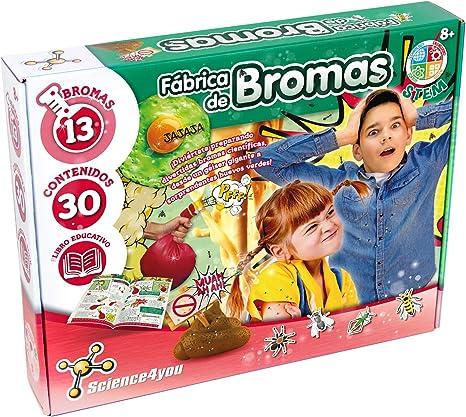 Science4You-5.60098E+12 Fábrica de Bromas para Niños +8 Años ...