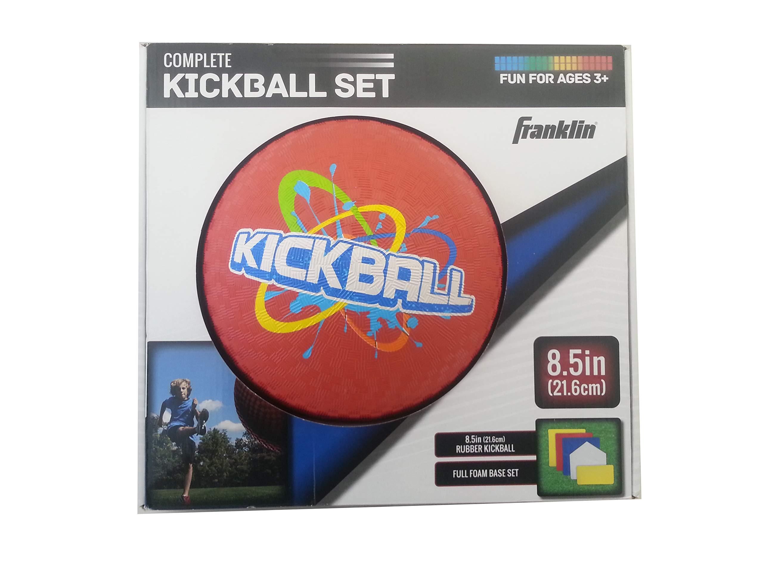 Franklin Complete Kickball Set 8.5'' Ball with Full Foam Bases