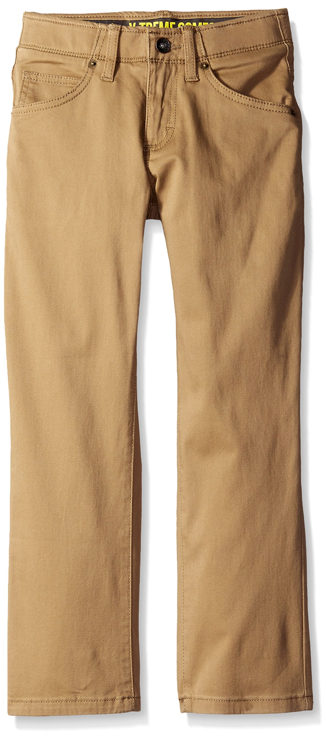 Lee Boys' Sport X-Treme Comfort Slim Jeans, Original Khaki, 20 Husky