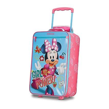 593a0476bdf3 American Tourister Disney Kids Minnie Mouse Softside Upright 18 Inch ...