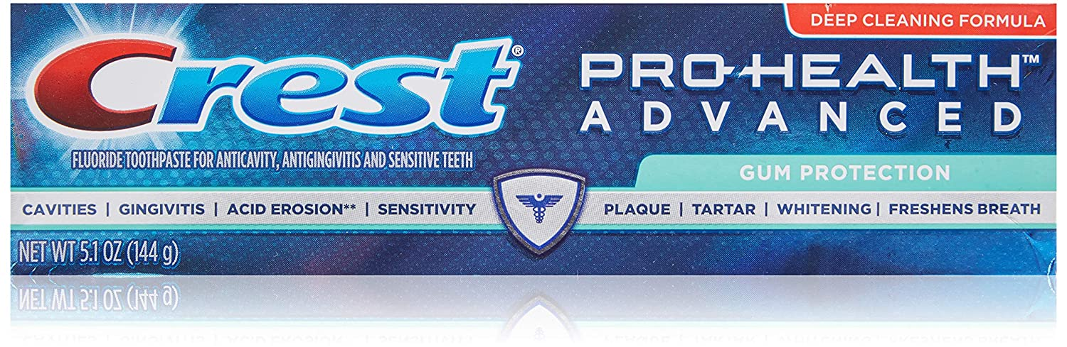 Crest Pro-Health AdvancedGum Protection Toothpaste 3.5 oz (Pack of 3)
