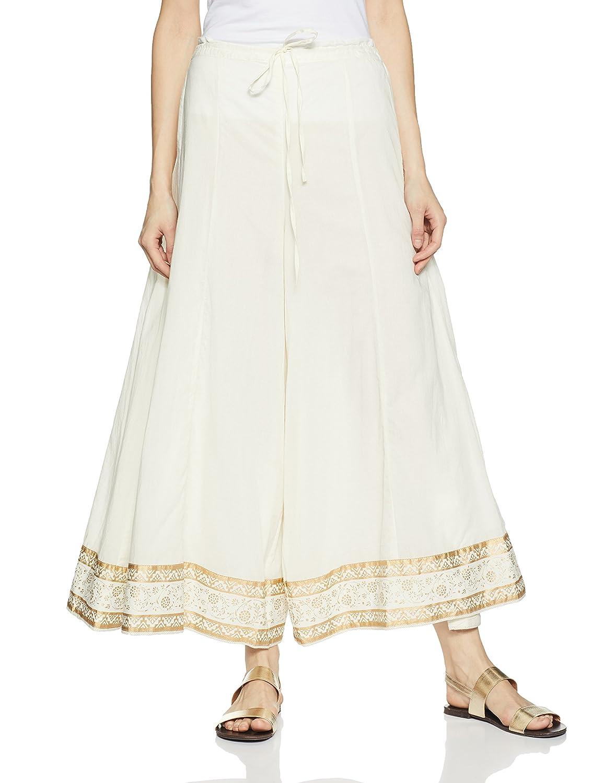 19356b80d4 Biba Women's Off White Cotton Palazzo [9Napu1713290] - $35.99