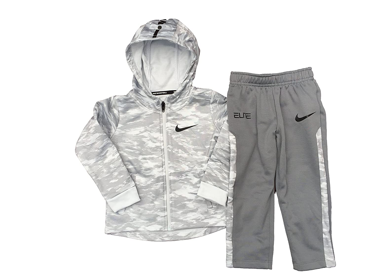 322736305a Dress him up as a future all star athlete in this 2-piece athletic jacket  and pants set by Nike.Athletic jacket & pants setToddler boy\'s sizes100%  ...