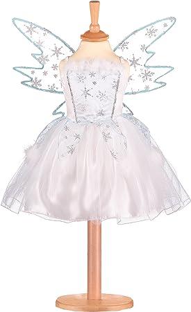 Fancy Dress White Frozen Christmas Snowflake Head Bopper Fluffy Ice Queen