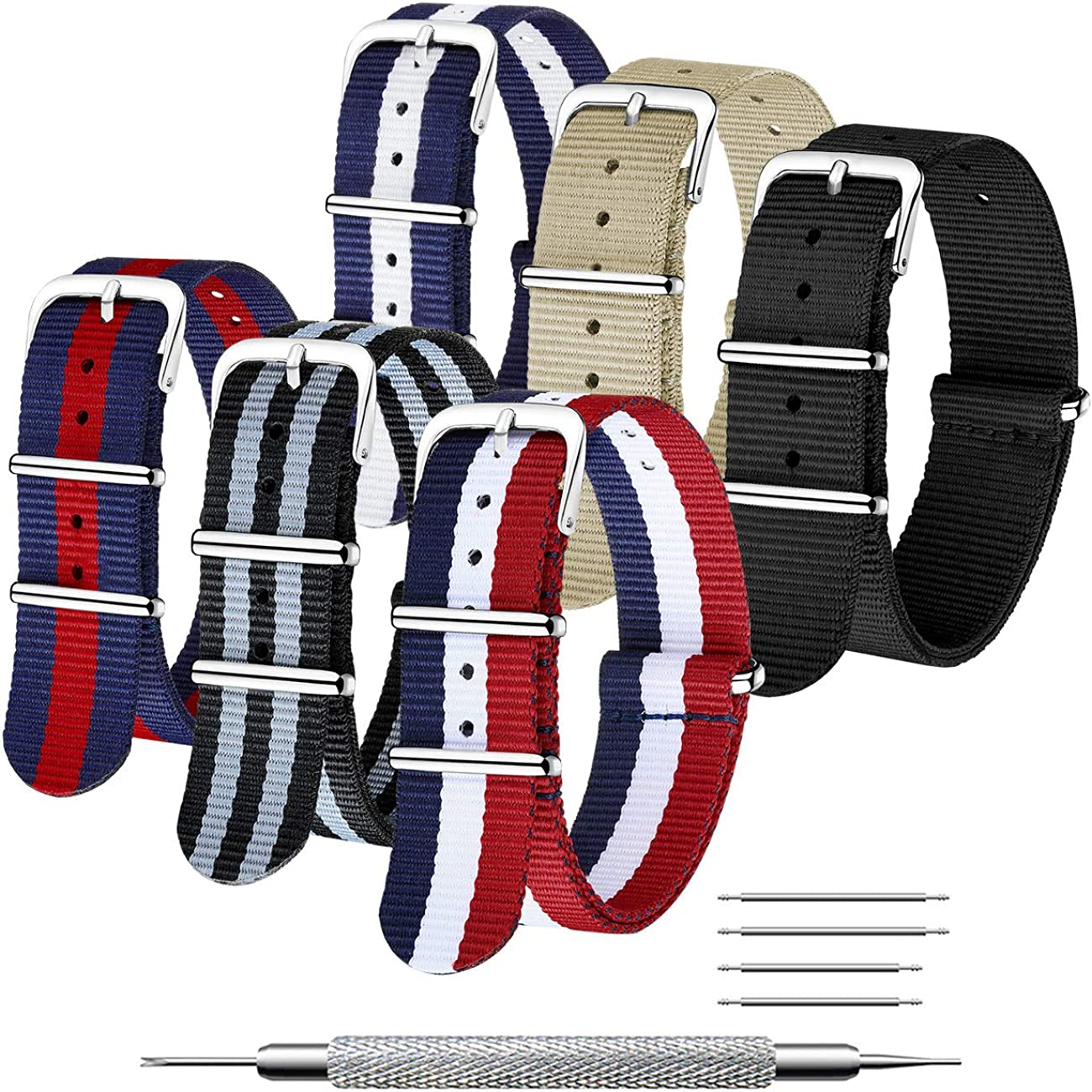 20mm 22mm Watch Band Strap Spring Pins