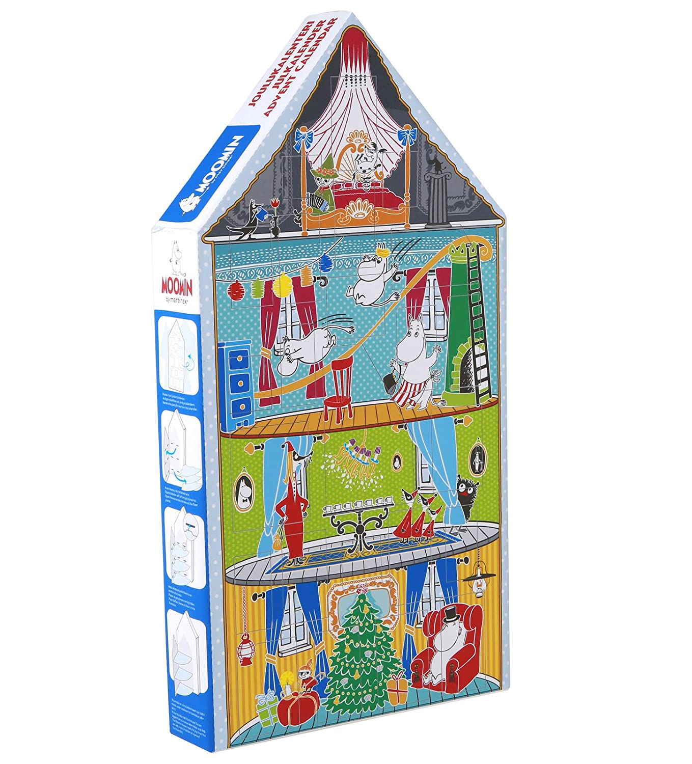 benefit joulukalenteri 2018 Amazon.com: Moomin Christmas Advent Calendar with Toys Moomin  benefit joulukalenteri 2018