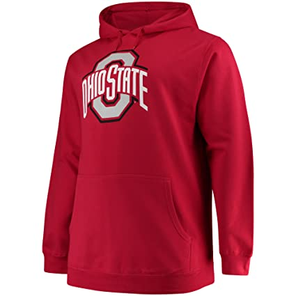 3e155e804b8 Profile Varsity Ohio State Buckeyes Men s Big   Tall Team Logo Pullover  Hoodie Red (3XT