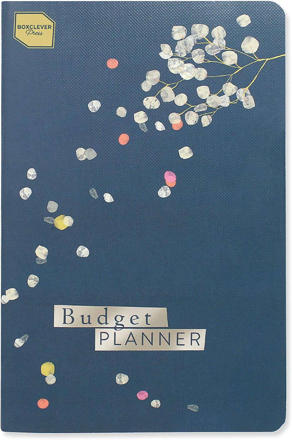 Boxclever Press Budget Planner. Budget, Save & Become Debt Free with this Undated Planner. Lightweight Budget Book & Bill Organizer with Christmas Expenses & Monthly Planner Sections. Size 8.5 x 5.5in : Office Products
