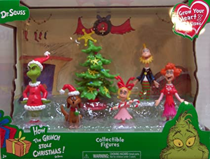The Grinch Christmas Tree Movie.Just Play Dr Seuss Grinch Holiday Figures Set
