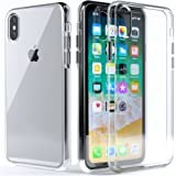 Clear iPhone X Case :: Fits Apple iPhone X :: Ultra Slim, Scratch Resistant, Protective, & Military Grade Drop Proof, Responsive Buttons and Screen / Camera Protection :: For Men & Women by LUPA