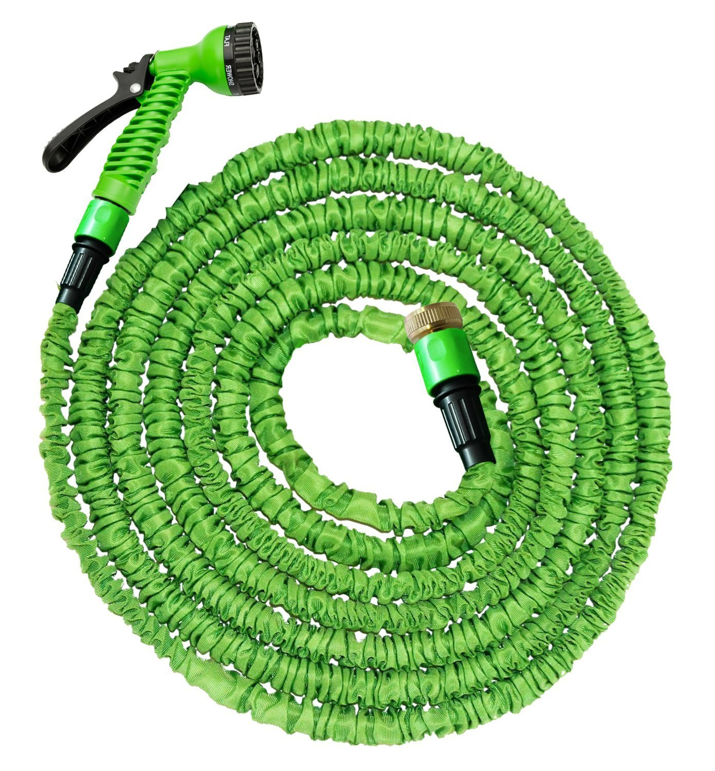 50FT GARDEN HOSE PIPE | SUPER LIGHT WEIGHT HOSE PIPE | 7 SETTING SPRAY NATURAL TRIPLE LAYER LATEX | EXPANDING HOSE UPTO 15 METERS (50FT) | MAGIC HOSE 1 YEAR FREE REPLACEMENT WARRANTY! MH DISTRIBUTIONS LTDWARRANTY!