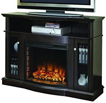 Amazon.com: Pleasant Hearth 248-44-34M Elliot Media Fireplace ...