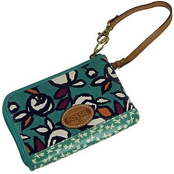 dernière collection top design mode de premier ordre Portefeuille Fossil KEY PER Wristlet Porte-monnaie ...