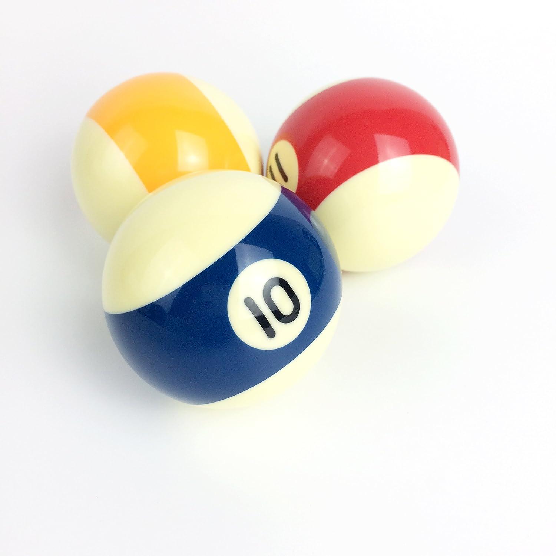 "New Standard Pool Ball Set 2 1//4/"" Regulation Weight Full Set"