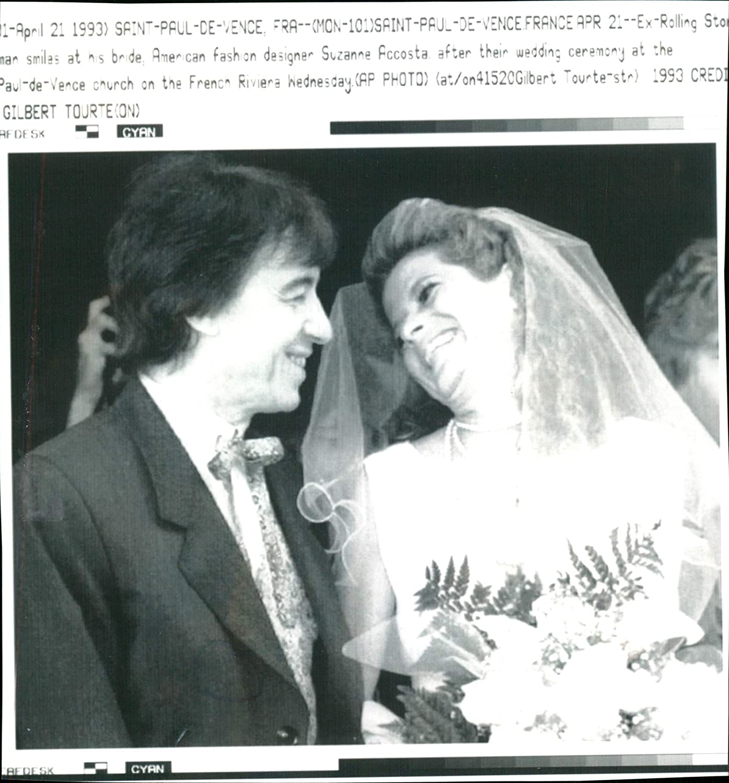 Fotomax - Foto Vintage de Bill Wyman y Suzanne Accosta.: Amazon.es: Hogar
