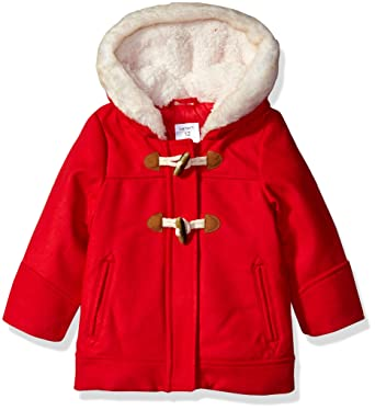 0b898aac4 Amazon.com  Carter s Baby Girls  Infant Faux Wool Toggle Coat  Clothing