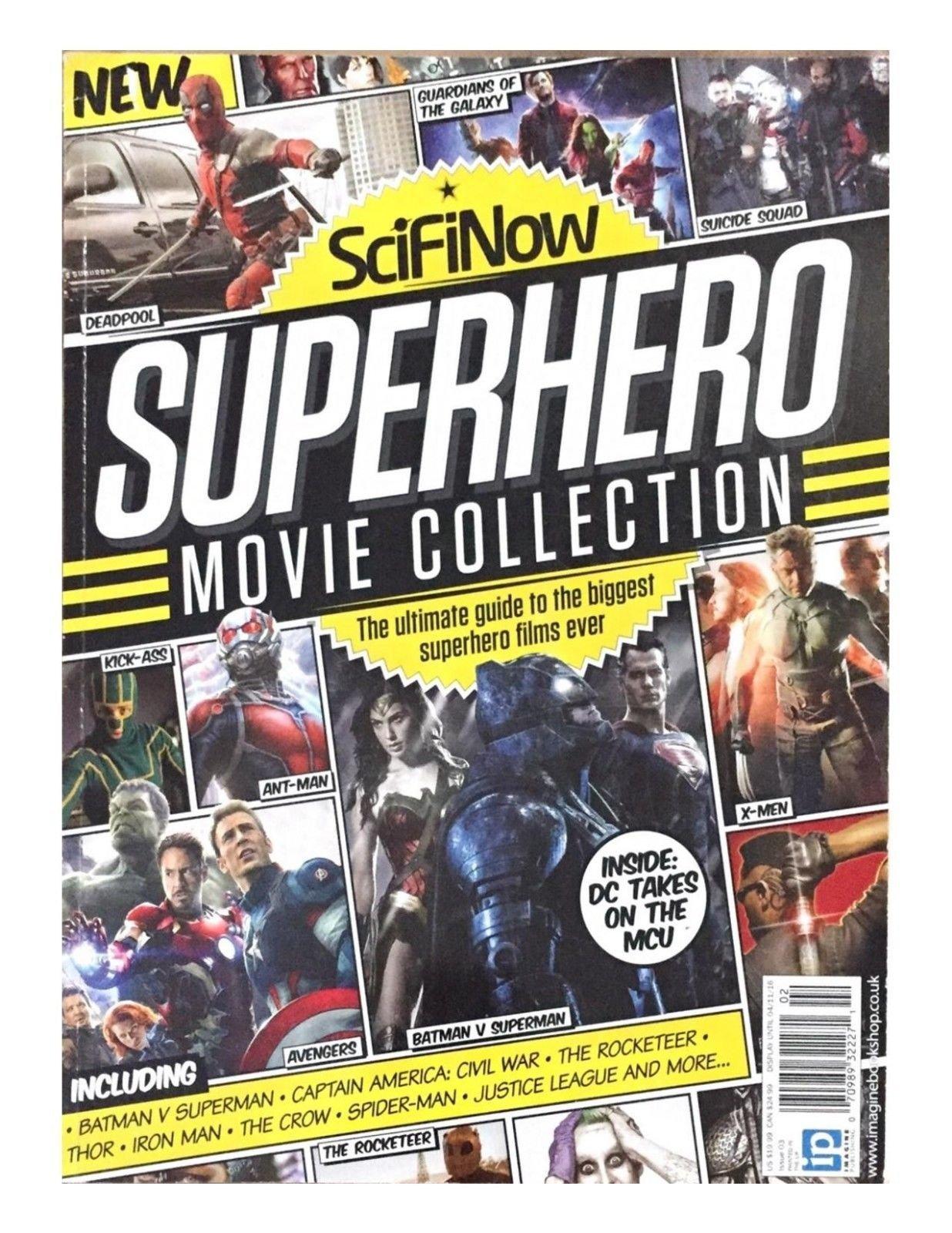 SCIFI NOW MAGAZINE, THE SUPERHERO MOVIE COLLECTION, THIRD EDITION