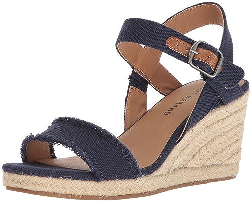 be3d14ae323 Lucky Brand Women's Marceline Espadrille Wedge Sandal