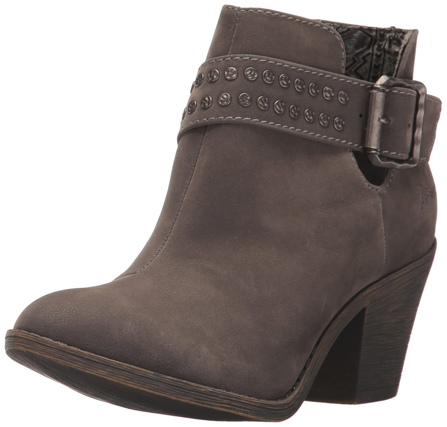 Blowfish Women's Super Ankle Bootie B01NCOKOKT 6.5 B(M) US|Grey Fawn Polyurethane