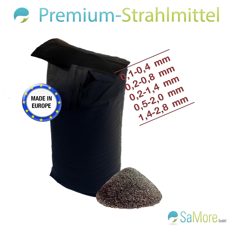 25 KG STRAHLMITTEL STRAHLGUT SANDSTRAHLEN STRAHLSAND  0,2 bis 0,8 mm