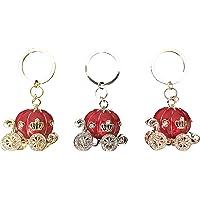 Llavero estilo calabaza - Llavero para llaves de coche, casa, etc - accesorio para mujer y hombre - Llavero con detalles de lujo