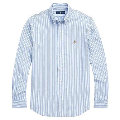 89336ef4 Amazon.com: Polo Ralph Lauren Men's Long Sleeve Classic Fit Poplin ...