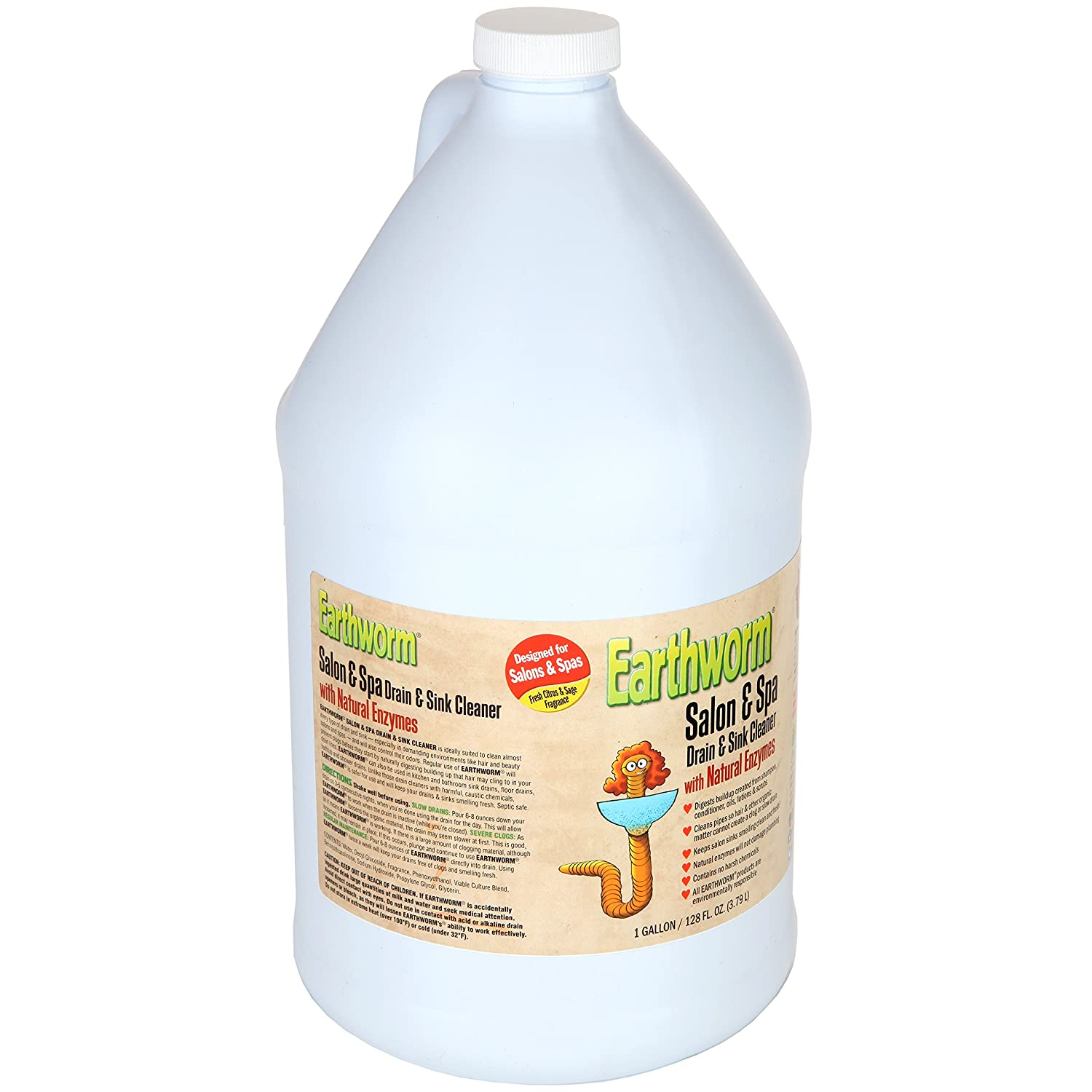 Amazon Earthworm Salon & Spa Drain and Sink Cleaner Drain