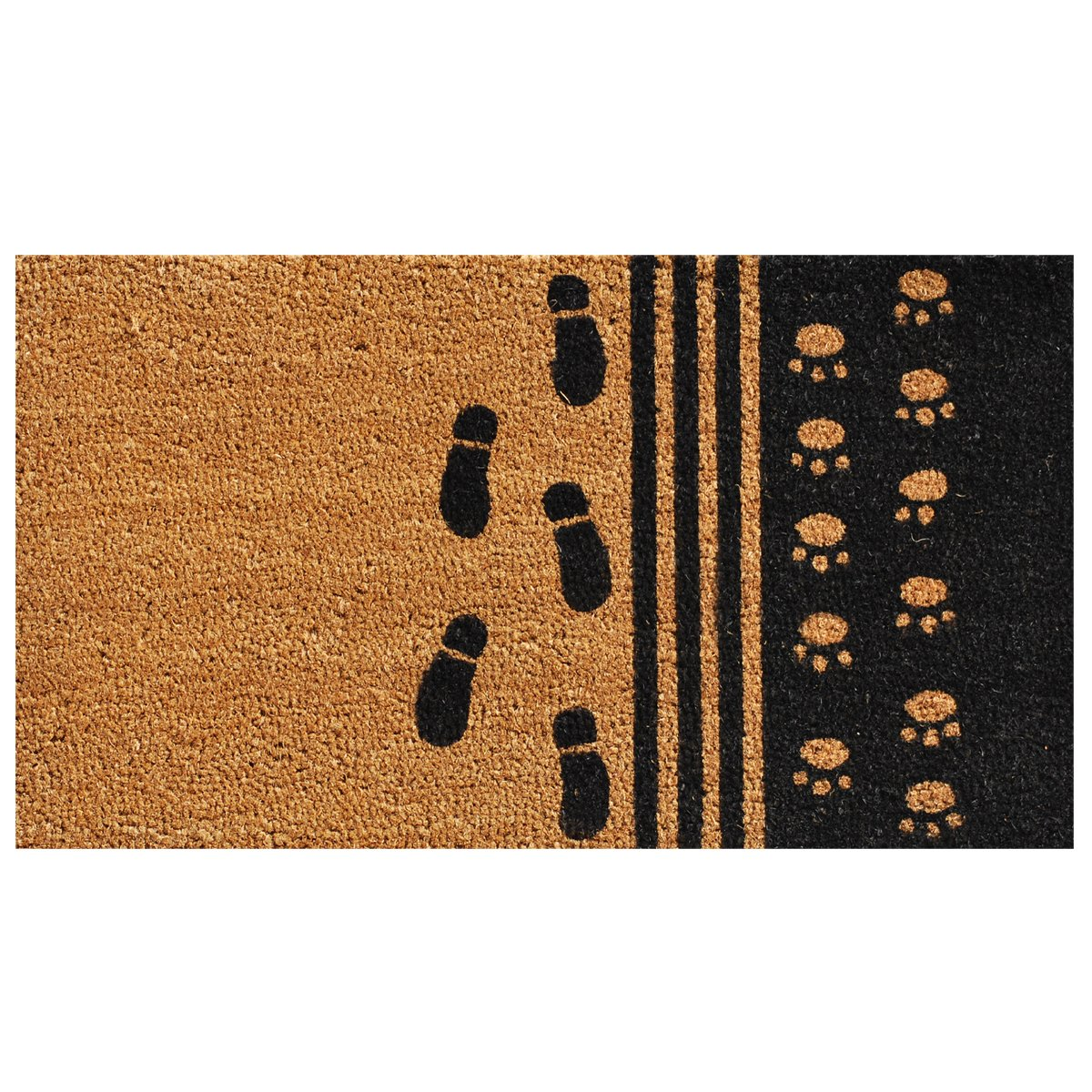 Home & More 120861729 Man's Best Friend Doormat, 17'' x 29'' x 0.60'', Multicolor