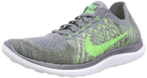 pretty nice 75f3a dd4f5 Nike Mens Free 4.0 Flyknit Running Shoes, Cool Grey Green, 13 D(M) US  Buy  Online at Low Prices in India - Amazon.in