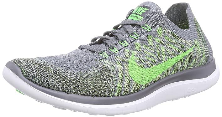 Nike Free 5.0 Amazon Grève Gris Vert Frais