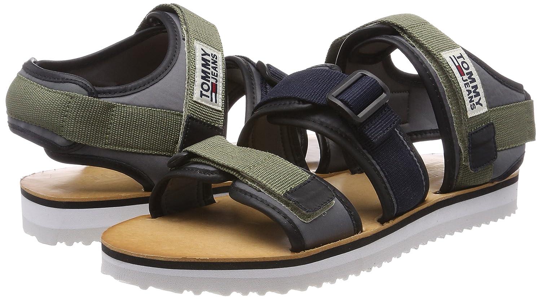 e2c330243f0304 Tommy Jeans Men s Urban Tj Strap Sandal Sling Back  Amazon.co.uk  Shoes    Bags