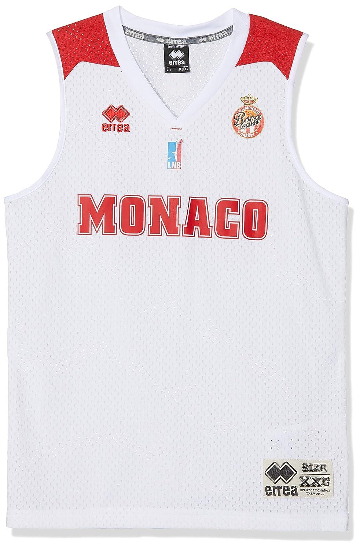 AS Monaco Basket AS - Camiseta Oficial de Baloncesto 2018-2019 ...