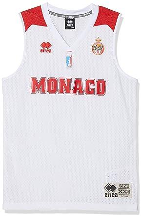 AS Monaco Basket AS - Camiseta Oficial de Baloncesto 2018 ...