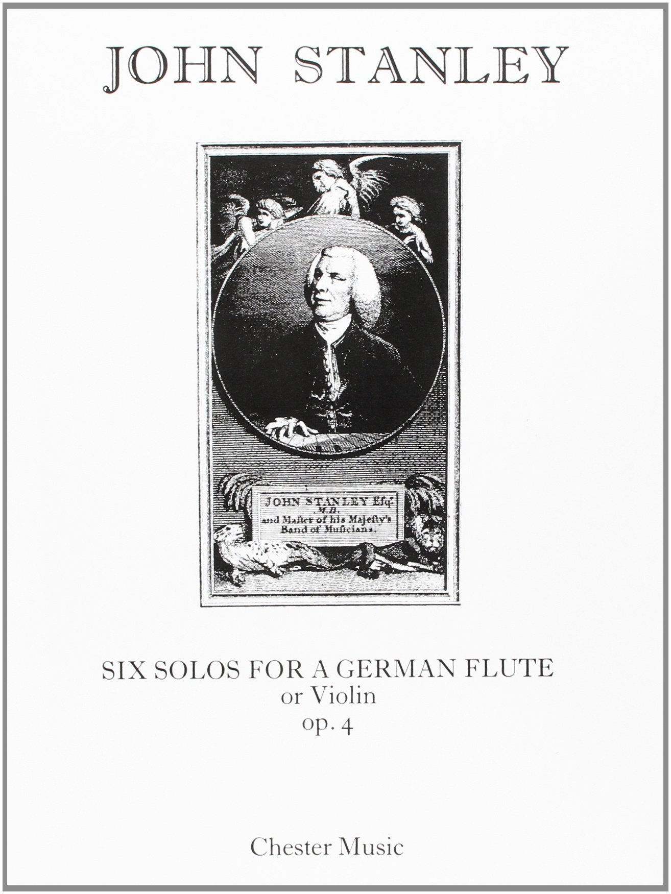 John Stanley: Six Solos Op.4 for Flute or Violin and Continuo pdf