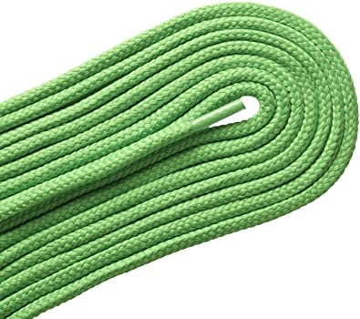 792151166459 HHH-107 THICK ROUND ATHLETIC Neon Lime 36 inch Shoelaces 2 Pair Pack
