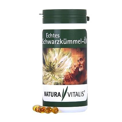 Natura Vitalis - Aceite de auténtico comino negro, 360 cápsulas de gelatina blanda en paquete