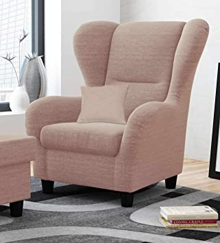 Ohrensessel In Rosa Im Landhausstil Der Perfekte Sessel Für