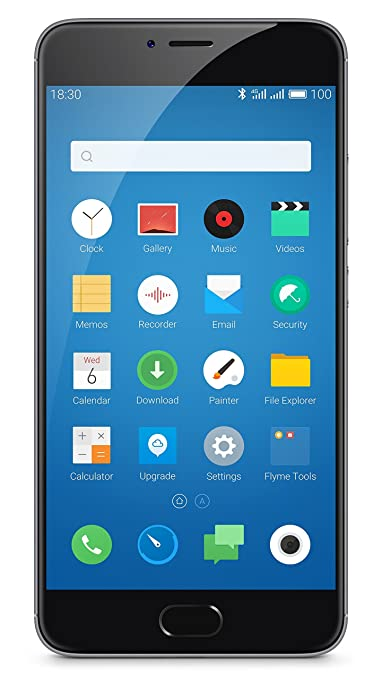 Meizu m3 note (Grey, 32 GB) Smartphones at amazon