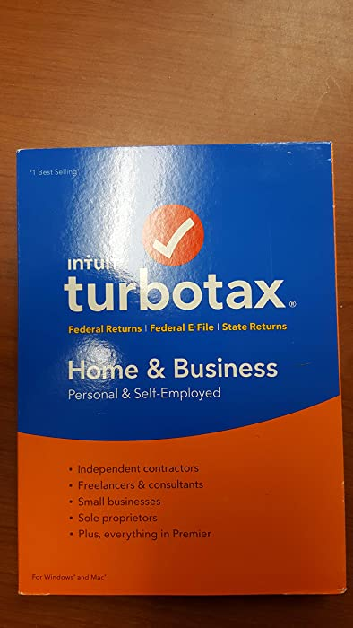 Turbo Tax Home and Business - Tax Year 2015 PC/MAC Disk [OLD VERSION]