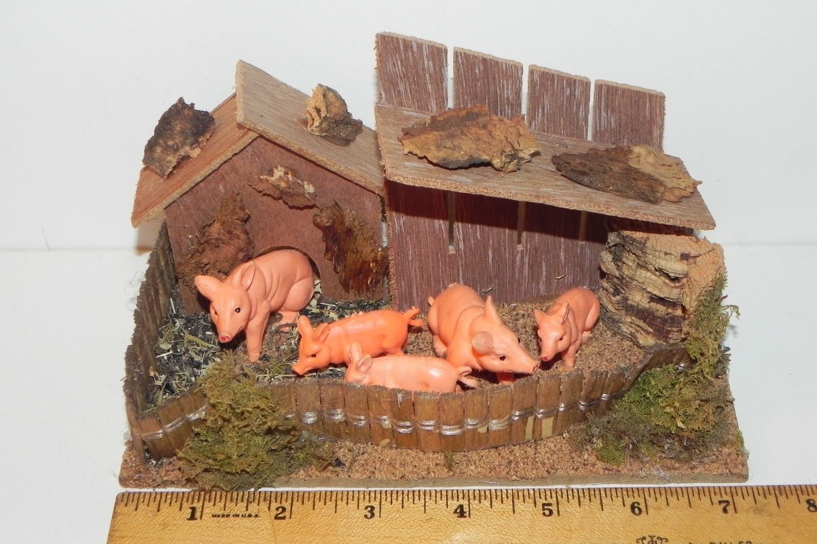Collectible Figurines Italian Animals Nativity Scene Accessory Farm Scene - USA_Mall