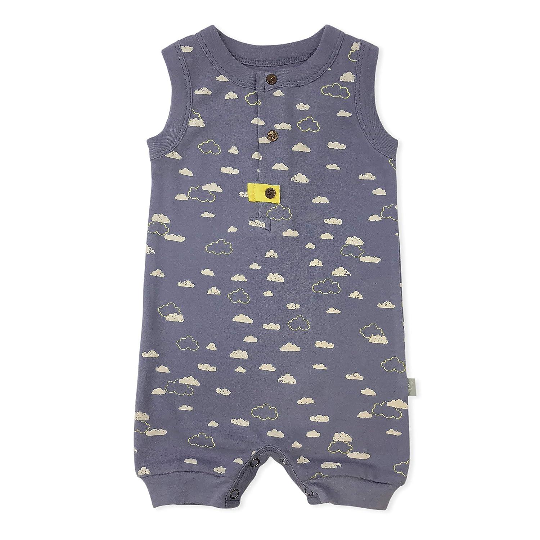 095787014c1c Amazon.com  Finn + Emma One-Piece Organic Cotton Romper for Baby Boy ...