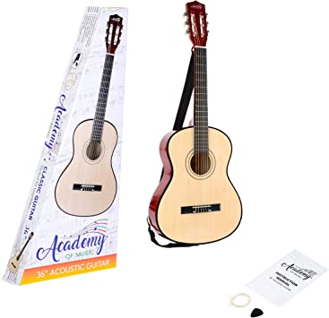Toyrific TY5905 - Guitarra Acústica Academy of Music: Amazon.es ...